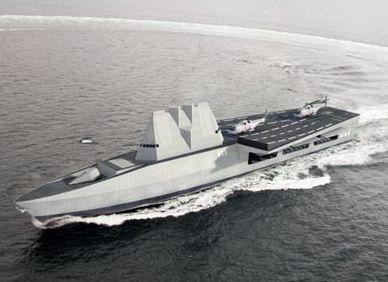 近未来の航空戦艦